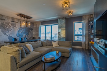 Spectacular 4BR/3BA Penthouse in The Continental